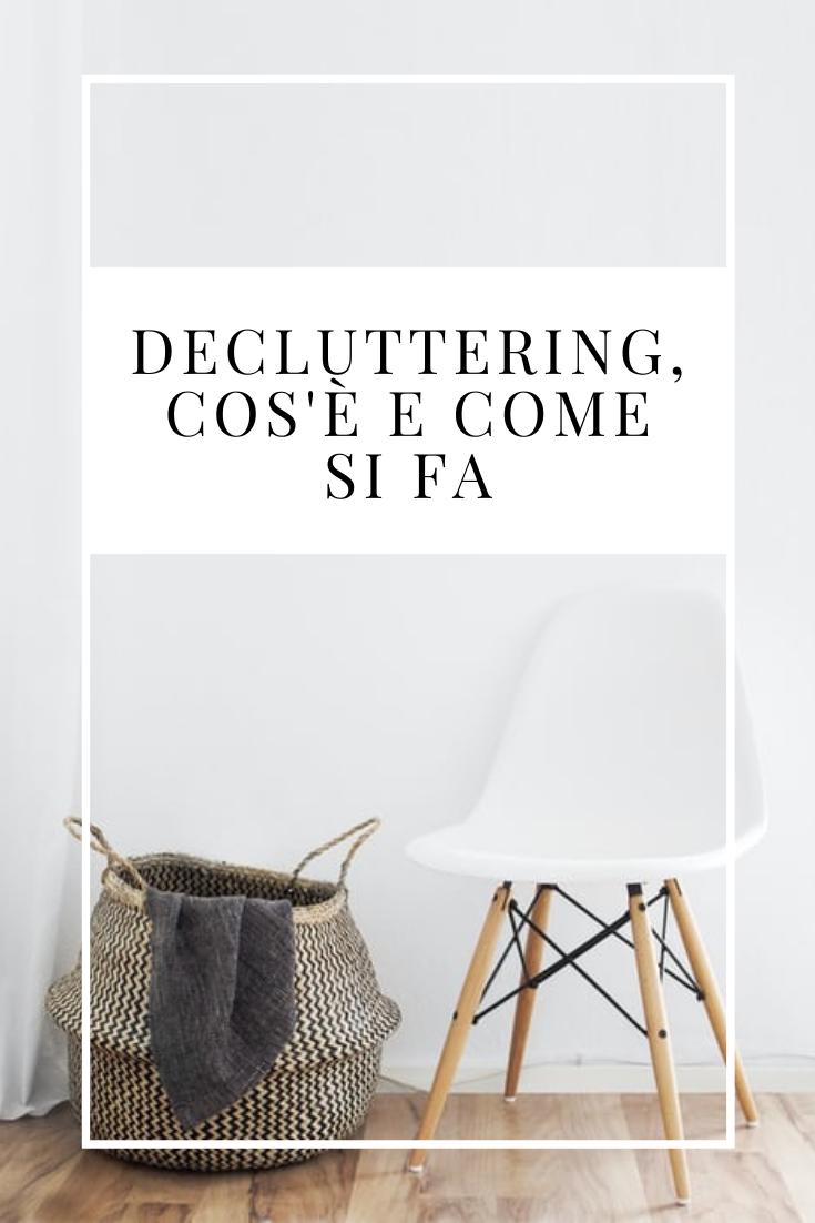 decluttering cos è