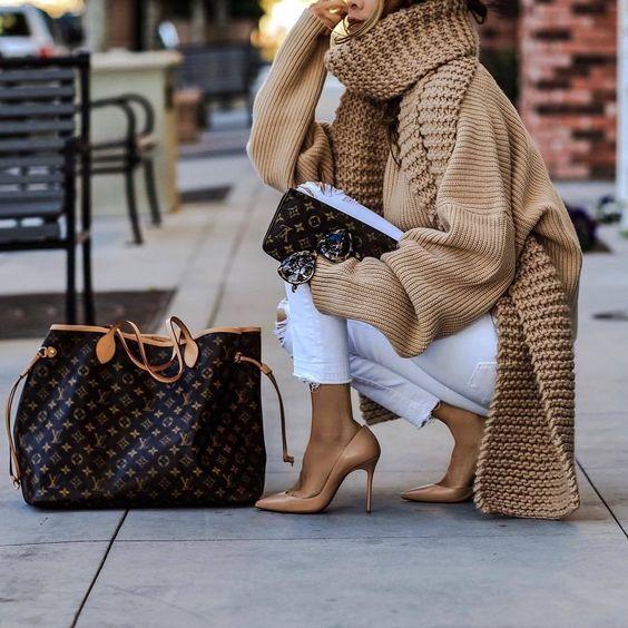 Abbinamento Neverfull Vuitton