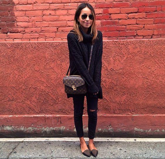 Vuitton Bag and Black