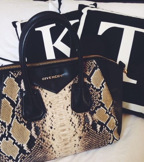 Snake Print Bag Givenchy Antigona
