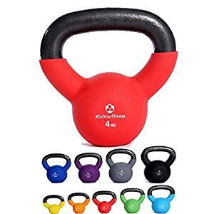 set di pesi kettlebell per allenarsi a casa