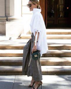 camicia bianca elegante
