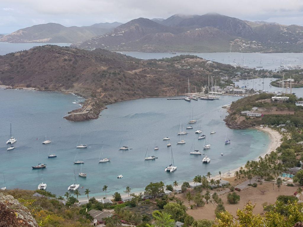 Crociera ai Caraibi Antigua dall'alto