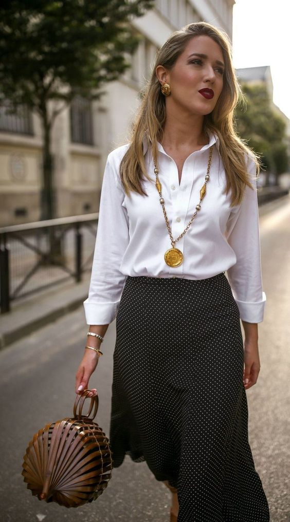 Camicia bianca outfit