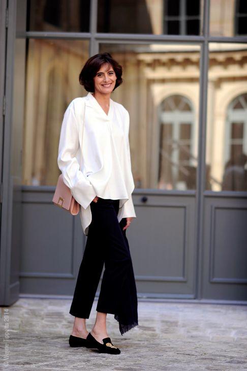 Camicia bianca per la sera: outfit