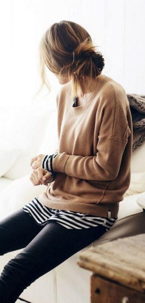 Moda primavera estate 2019: la maglia a righe abbinamenti