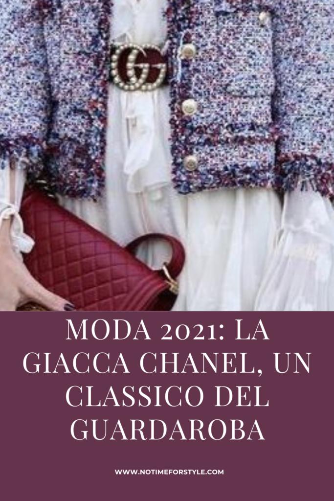 giacca chanel moda 2021