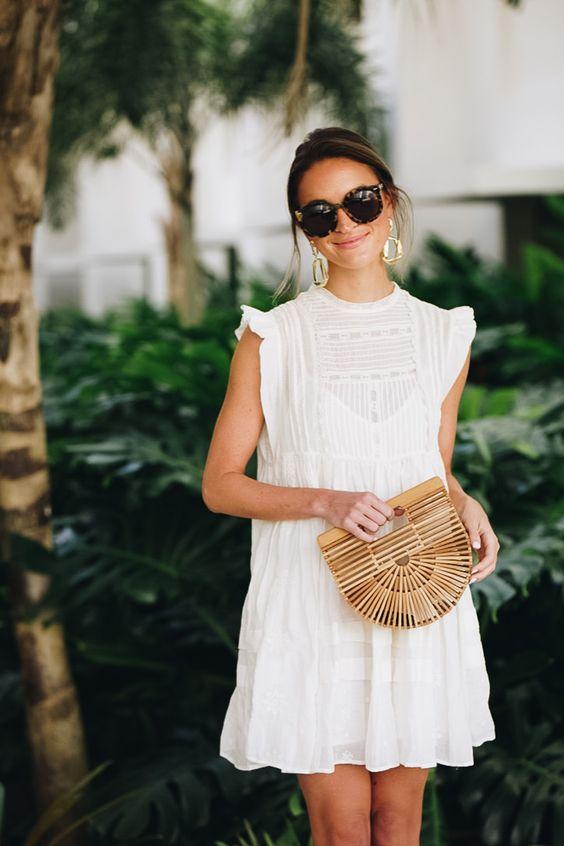 vestito bianco moda estate