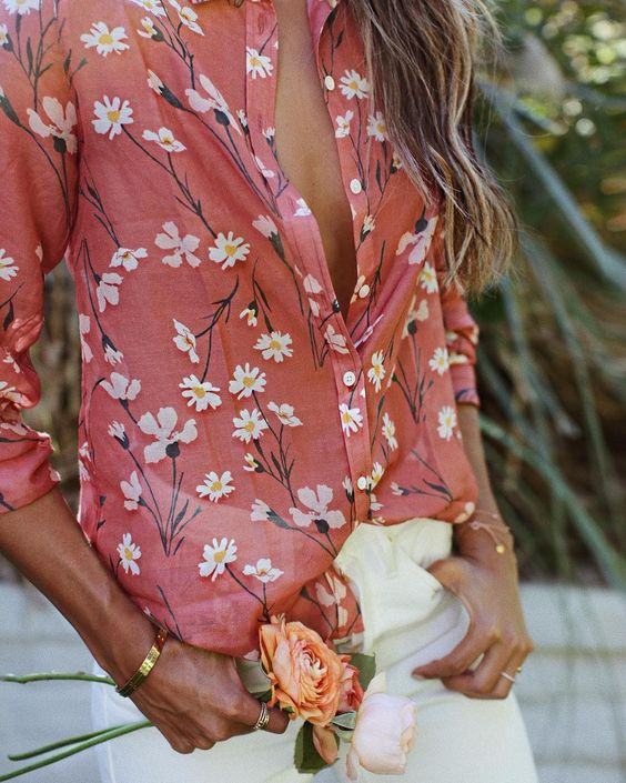 blusa living coral