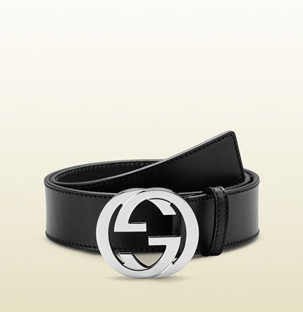Cintura Gucci donna nera