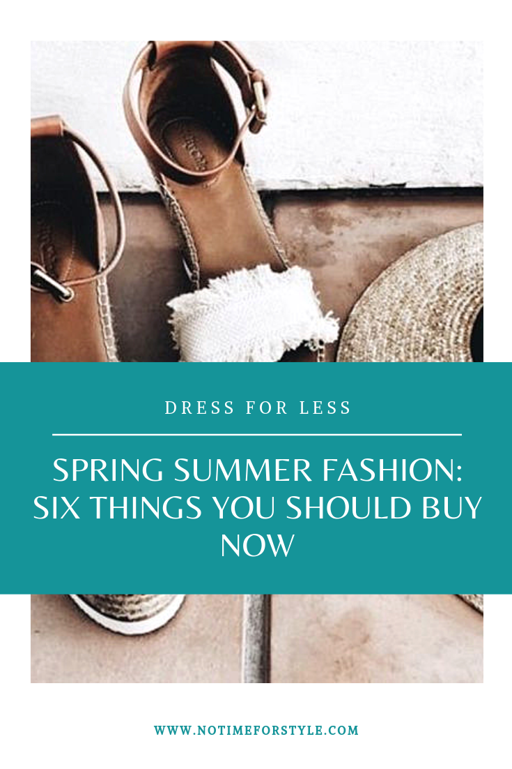 Spring Summer fashion trends - six low cost items that transform your wardrobe