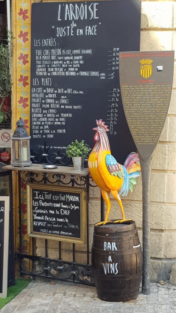 Itinerary for South of France