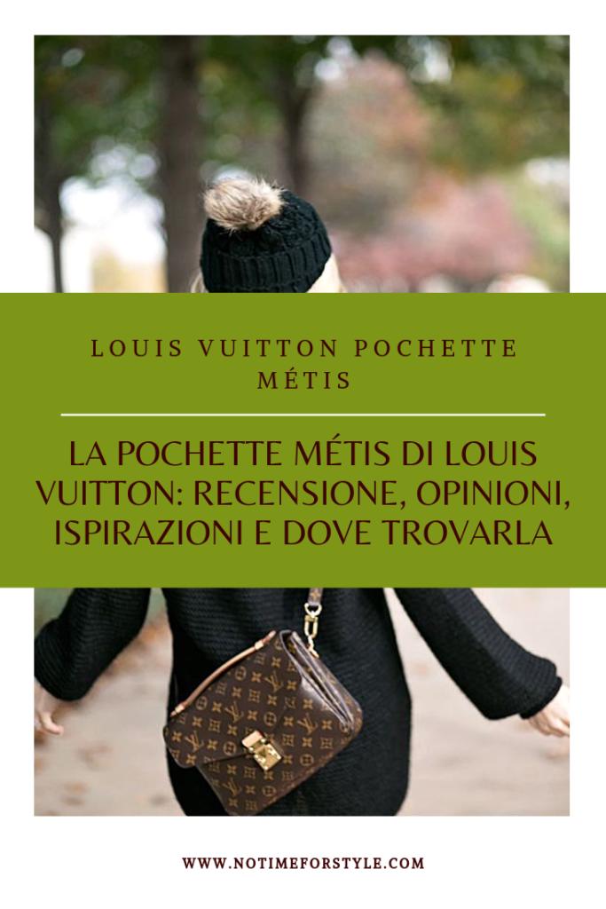 Borsette Louis Vuitton la Pochette Métis di Louis Vuitton