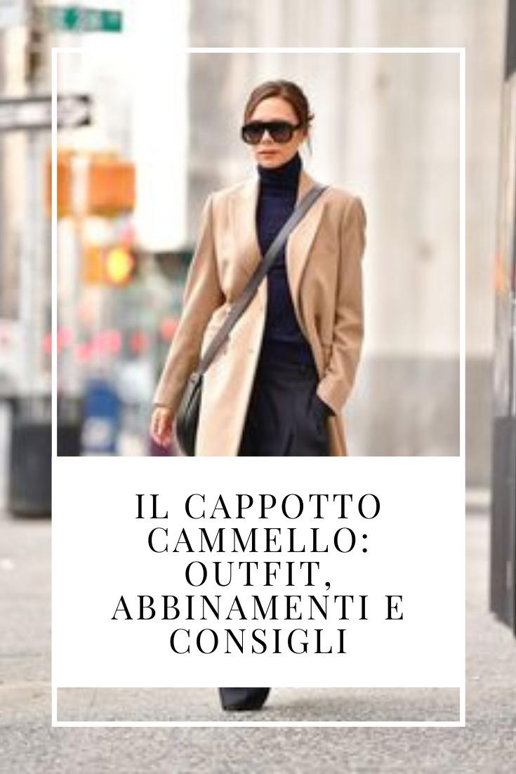 Il cappotto cammello outfit
