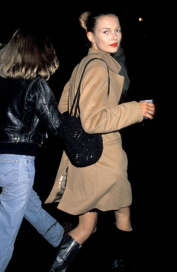 Kate Moss cappotto