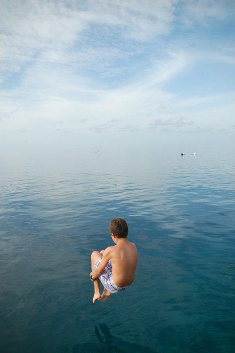 Tuffo alle Maldive