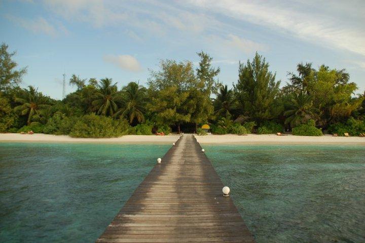 Maldive - pontile