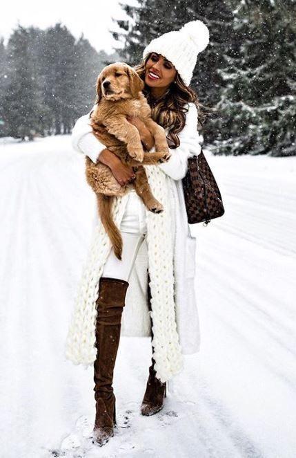 Bianco e marrone