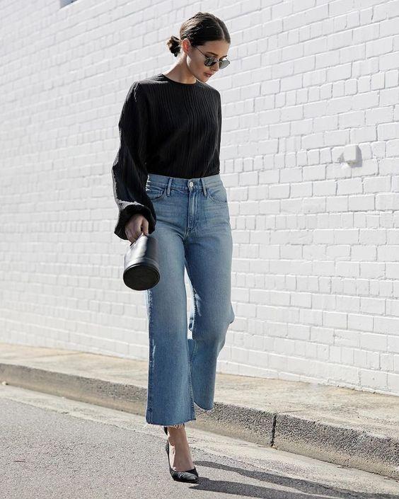 moda jeans autunno inverno 2019 i flared jeans