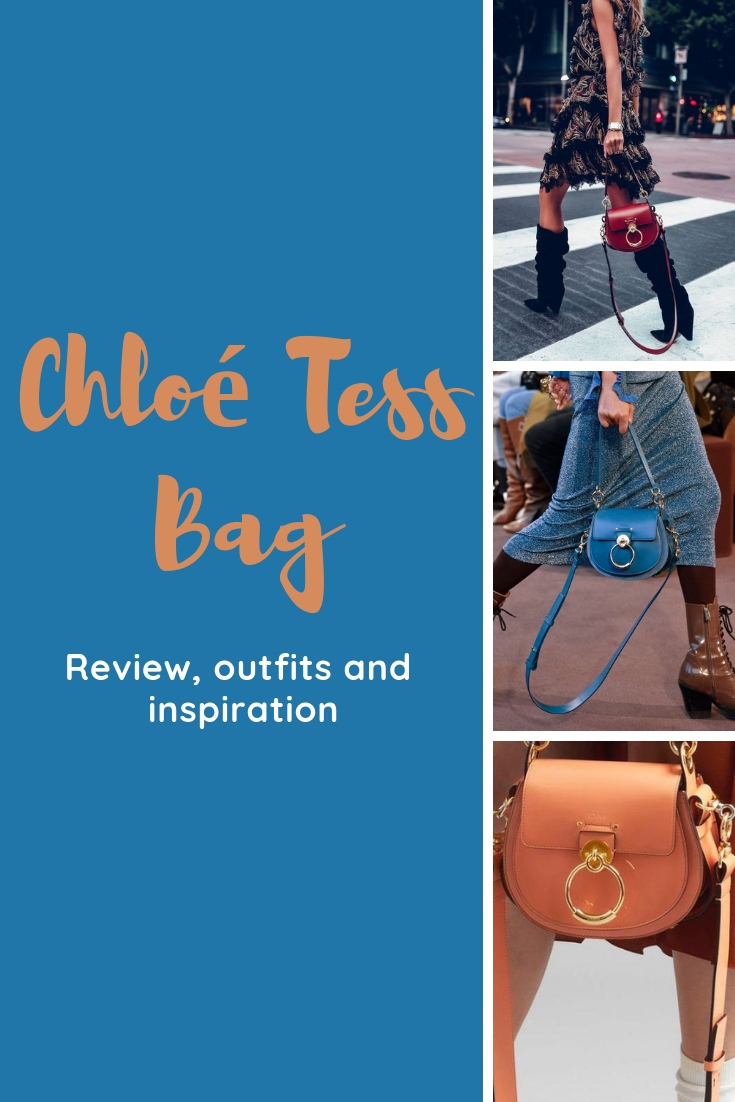 Chloe Tess Bag review and honest opinion / Chloe Bag outfits