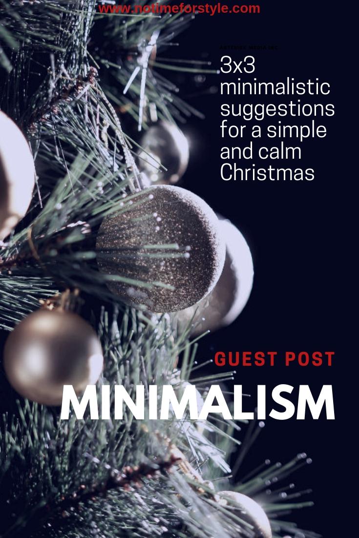 Minimalism at Christmas
