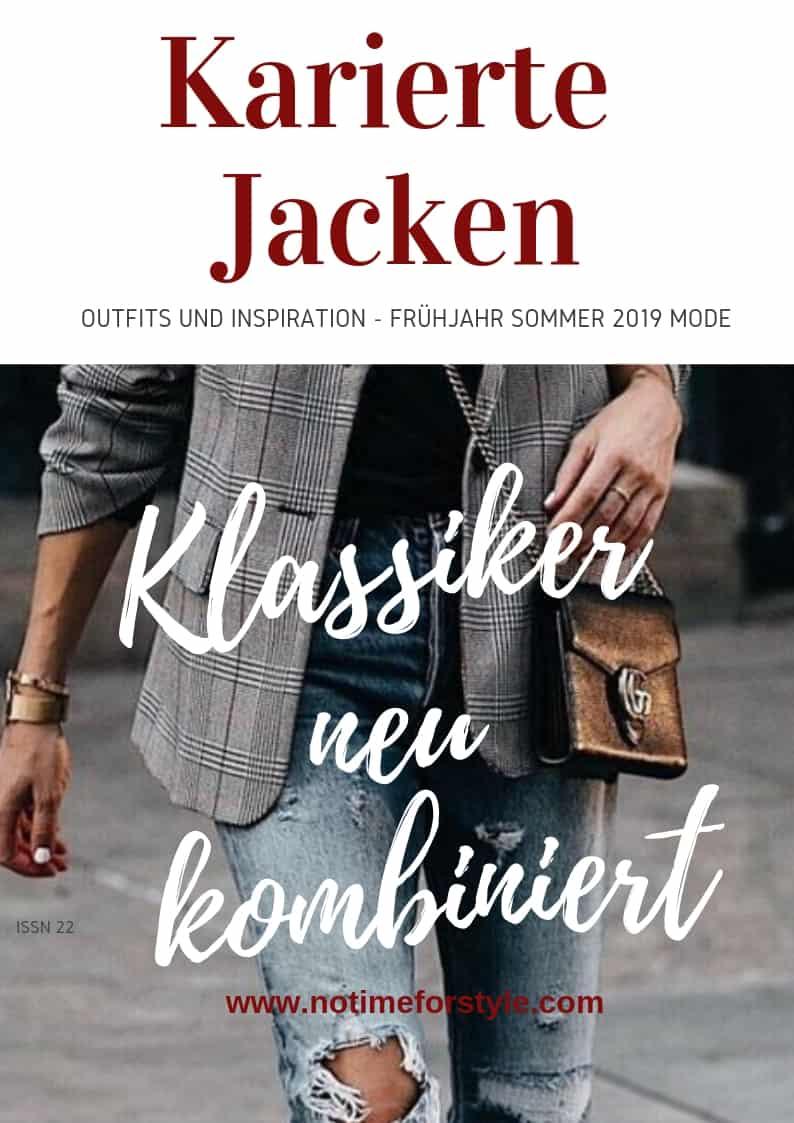 Karierte Jacken: outfits