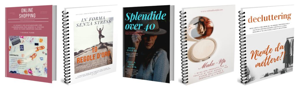 Guide di moda, bellezza e shopping in regalo per le lettrici del blog