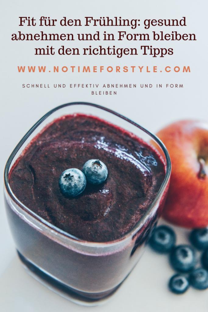 Heidelbeersaft und andere gesunde Nahrungsmittel