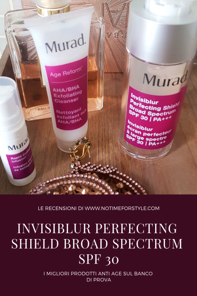 Invisiblur Perfecting Shield e altri prodotti Murad