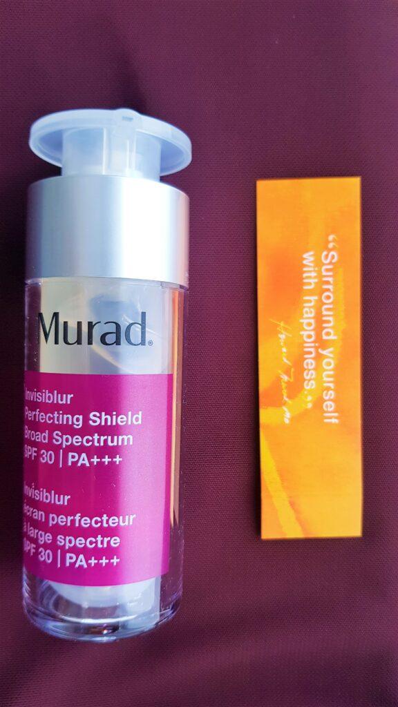 Invisiblur Perfecting Shield e altri prodotti Murad: recensione dei migliogiri prodotti solari e anti età