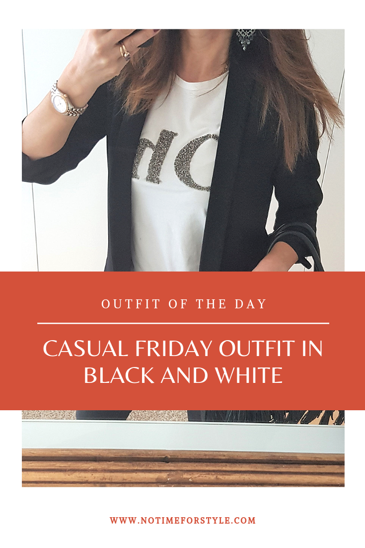 casual friday outfit / how to dress for casual friday / what to wear at the office