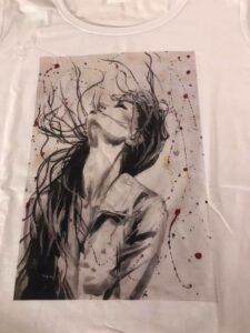 T-shirt artistiche di Monica Criscioli