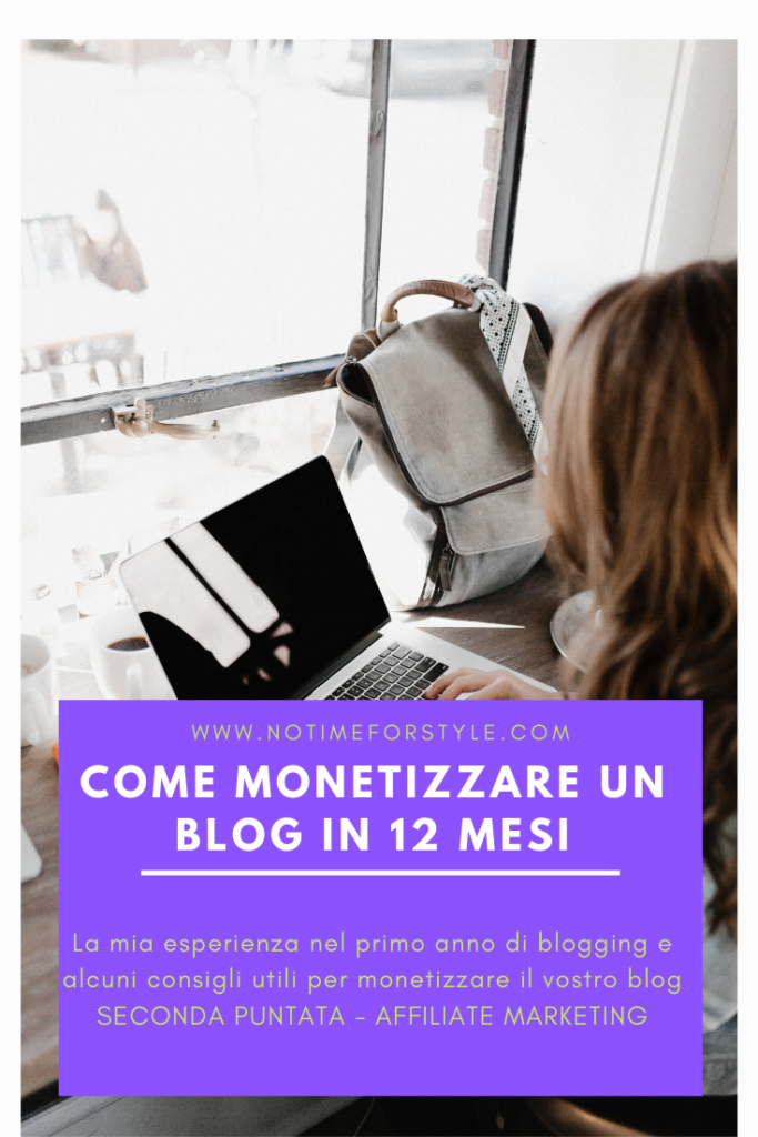 Come guadagnare con un blog: affiliate marketing