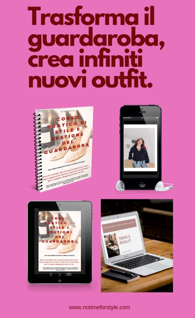 Corso di stile, decluttering e gestione del guardaroba