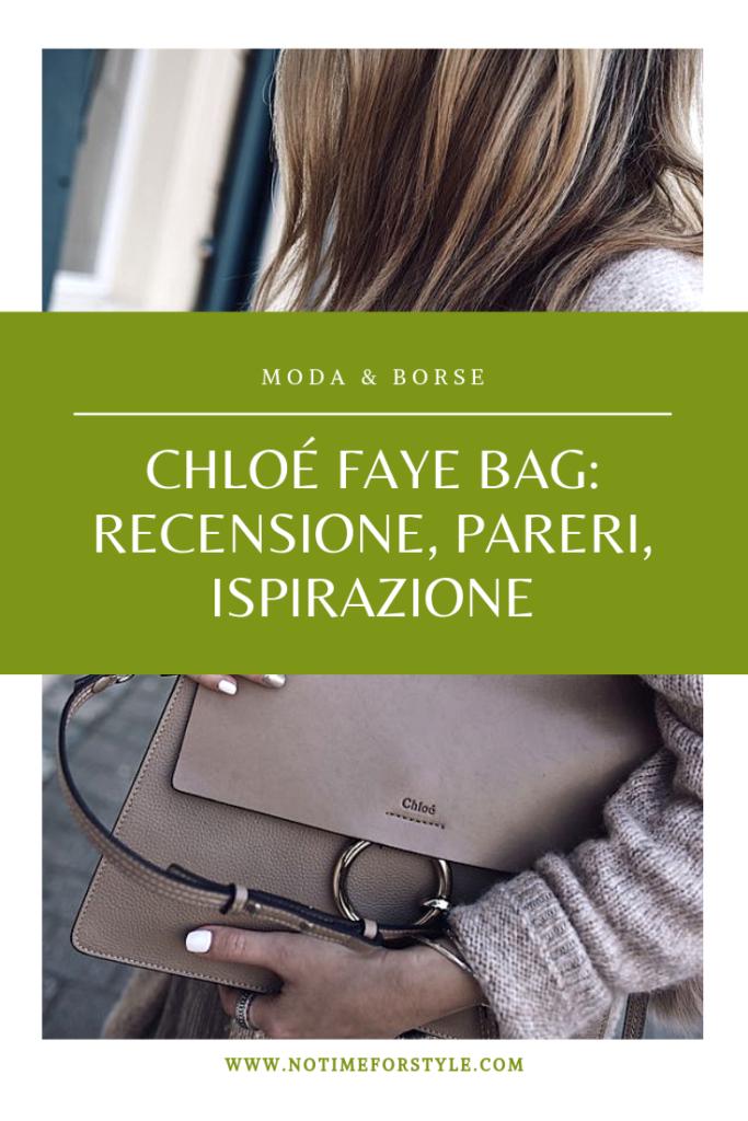 Chloe Faye recensione borsa chloé