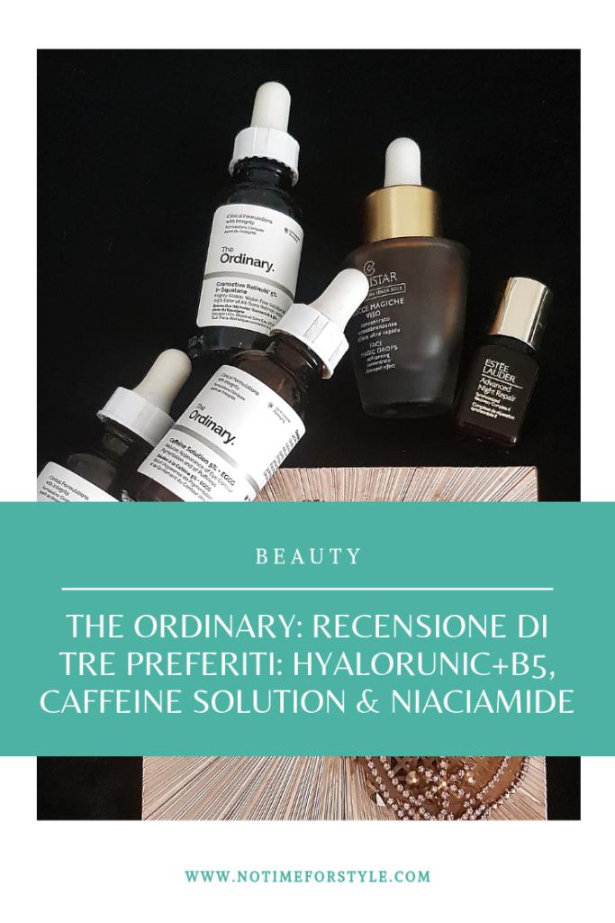The Ordinary recensione dei tre migliori prodotti