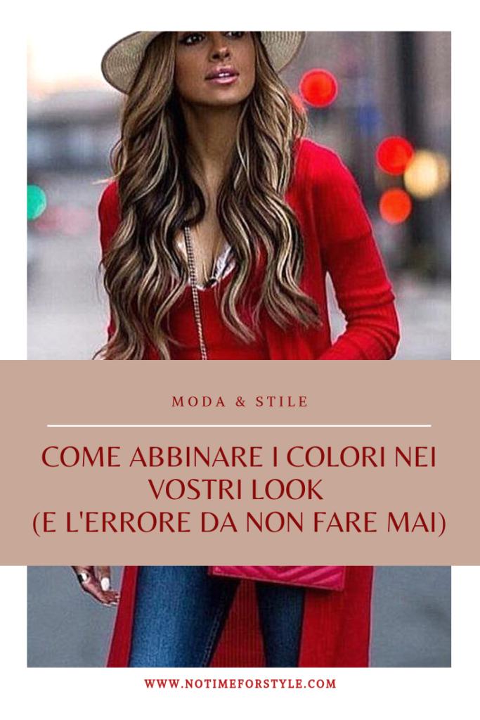 Come abbinare i colori nel guardaroba
