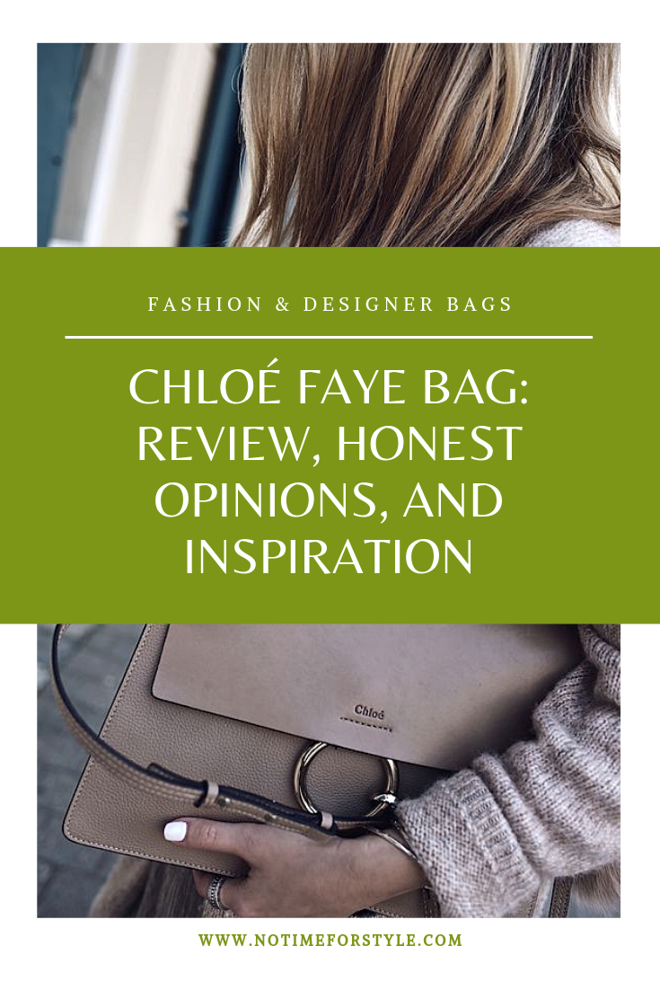 chloe faye bag review
