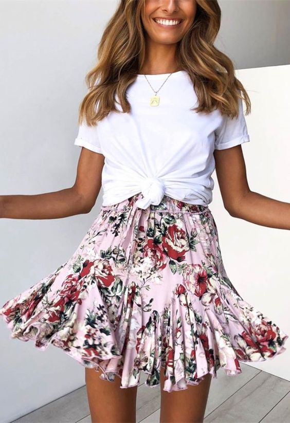 how to combine floral prints