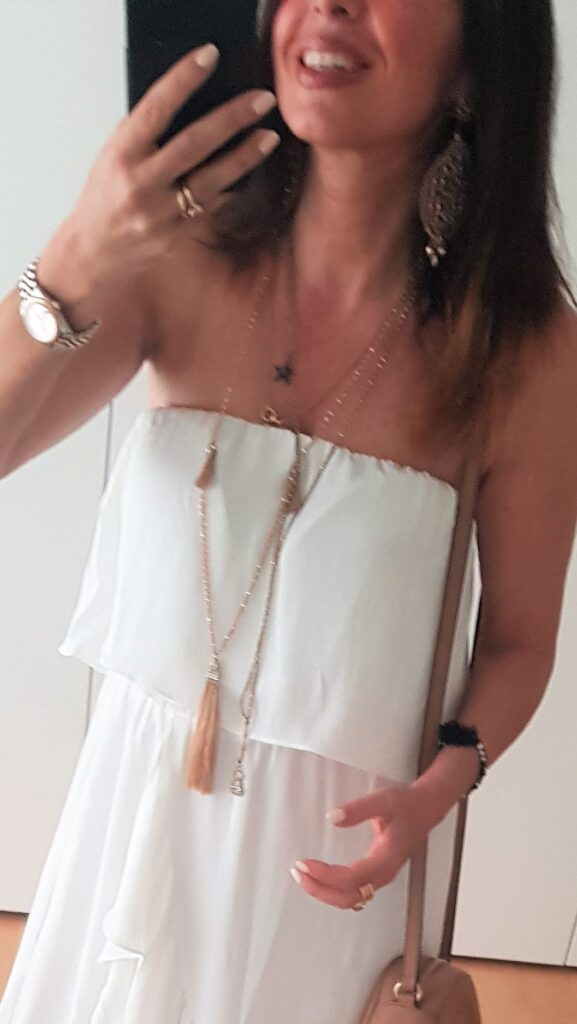 vestito lungo come abbinarlo