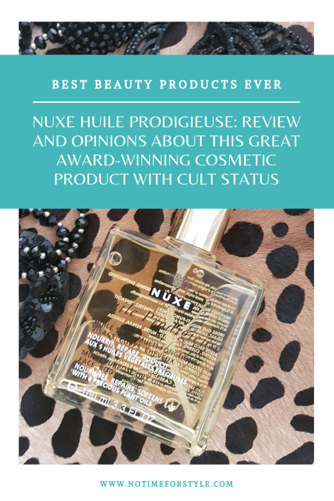 nuxe huile prodigieuse review