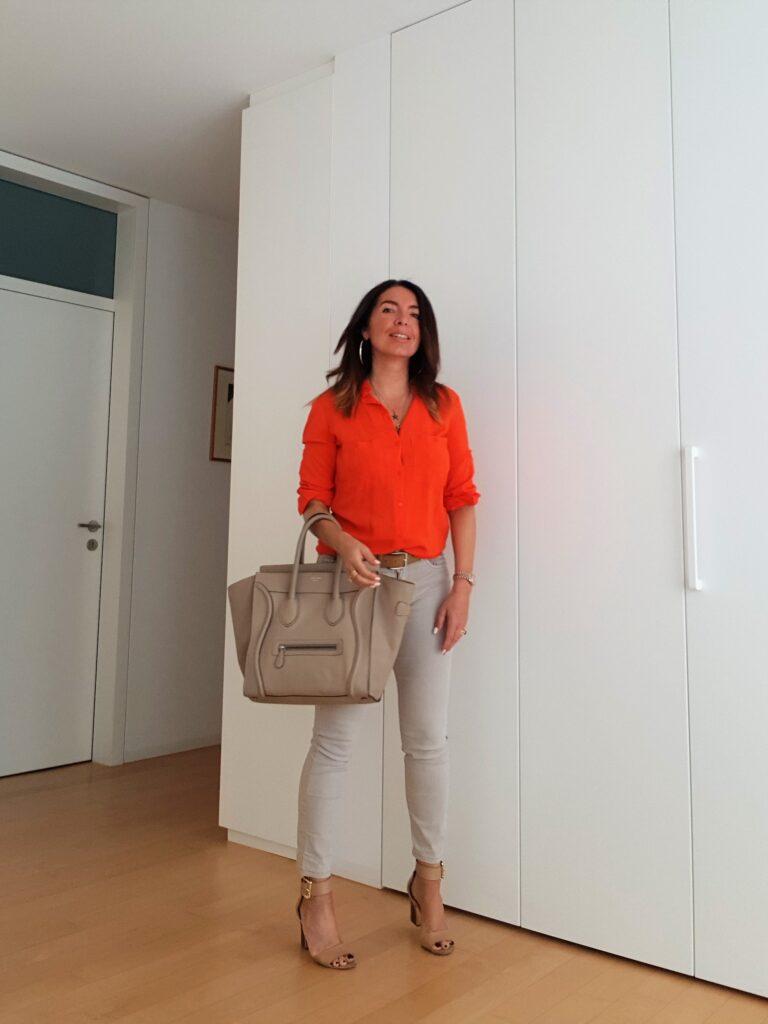 Come abbinare il color arancio