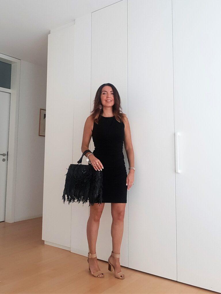 little black dress Chanel