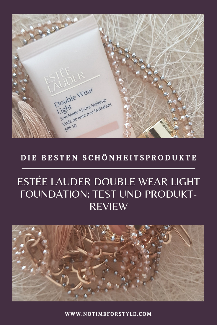Estée Lauder Double Wear Light Foundation produkt test und meinungen
