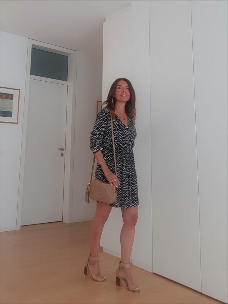 wrap dress per donne over 40 e over 50