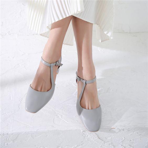 scarpe di moda 2019 2020 square toe