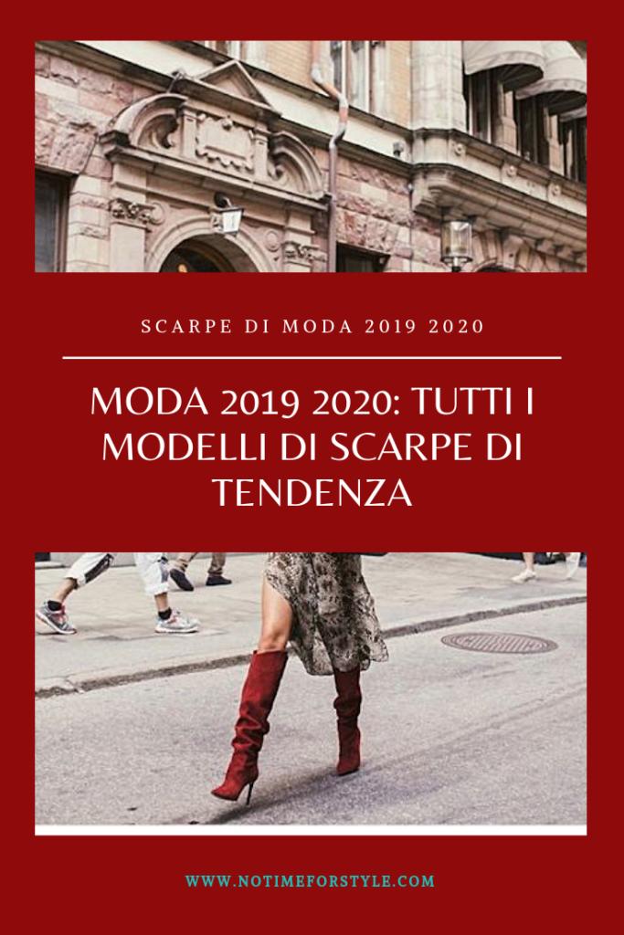 scarpe di moda 2019 2020