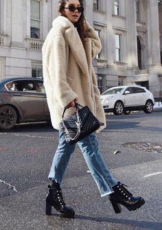 chunky boots stivaletti con il plateau moda scarpe 2019 2020