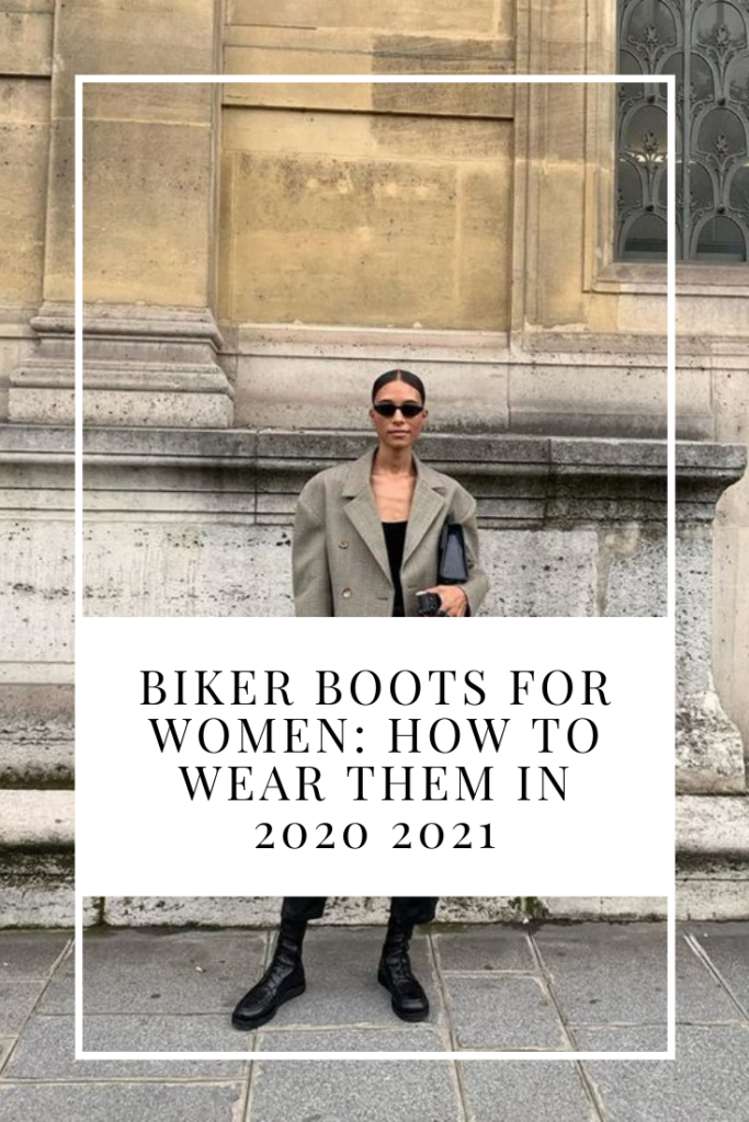 How to wear biker boots in 2020 and 2021
