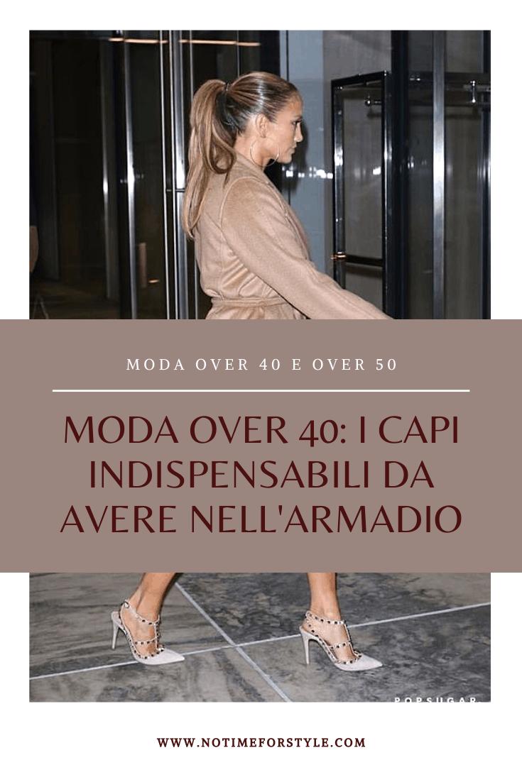 Moda over 40 i capi di abbigliamento indispensabili